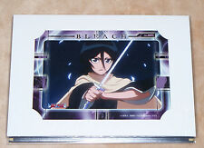 2008 Prize Bleach Rukia Kuchiki card paper frame manga anime Banpresto Movic