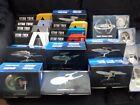 Star Trek Eaglemoss Specials & Plaques ISS Enterprise J TOS NX DS9 E Discovery