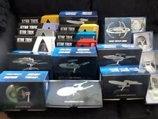 Star Trek Eaglemoss Specials & Plaques ISS Enterprise J TOS NX DS9 E Discovery