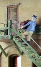 Lugging freight up the stairs working figure Finished O scale