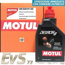 MOTUL DEXRON III 3 Olio Trasmissioni Automatiche Servosterzo Circuiti Idraulici