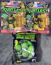 2021 Teenage Mutant Ninja Turtles WALMART EXCLUSIVE & NECA Toy Capsule Lot TMNT