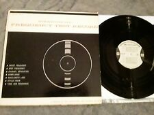 Stereophonic Frequency Test Record Cbs Laboratories 1961 Str-100 Vg+/+ Lp