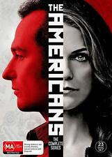 THE AMERICANS 1-6 2013-2018: COMPLETE Russian spy TV Season Series NEW Au R4 DVD