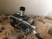 Vintage Paillard Bolex C8 8MM Movie Camera  1:2.5 f=12.5mm