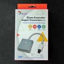New BROOK Super Converter PS3, PS4 Controller Joystick to DREAMCAST for Console
