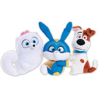 The Secret Life of Pets 2 Chat & Hang Talking Plush Max, Gidget or Snowball
