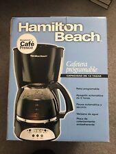 Hamilton Beach 12 Cup Programmable Coffeemaker Black