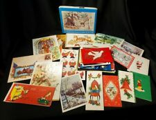 39 Vintage Unused Christmas Cards with Box