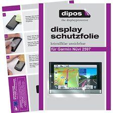 3x Garmin Nüvi 2597 Schutzfolie klar Displayschutzfolie Folie dipos Displayfolie