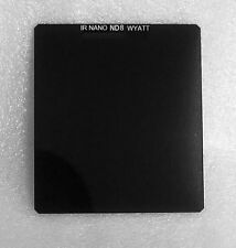 WYATT 84x100mm Nano IR ND0.9 8x Square Neutral Density Grey Filter for Cokin P