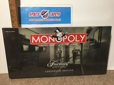 Monopoly Fairmont Hotels Centennial Edition Hasbro USAopoly