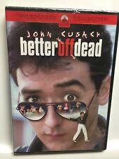 Better Off Dead (Dvd,2002,Widescreen) John Cusack,Brand New Factory Sealed! Usa!