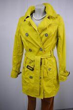 s.Oliver Jacke Mantel Trenchcoat  Gr. 38 Senf Farbe Baumwolle