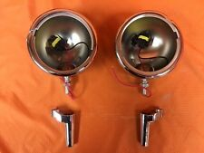 "Harley Davidson Chrome 4.5"" Auxiliary Spot Fog Light For Harley Electra Street G"