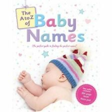 A to Z of Baby Names by Bonnier Books Ltd (Paperback, 2013)