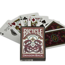 Bicycle Dragon Back (Red) Playing Cards magic poker cardistry