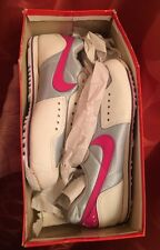 6 NOS In Box Vintage 1980s NIKE SC-E Women's CYCLING SHOE Hot Pink WHITE Silver