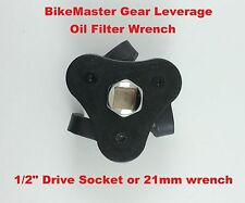 BikeMaster Motorcycle Gear Leverage Oil Filter Wrench Kawasaki Removal Tool Uni