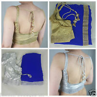 SARI SAREE WITH BLOUSE PRE PLEATED ATTACHED PETTICOAT INDIAN BOLLYWOOD DESIGNER