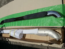 """4"""" Stainless Steel Side steps MAZDA BT50 Dual Cab 2012-2015 RUNNING BOARDS"""