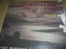 Eugene Goossens A.B.C. Sydney Symphony Orchestra Scotch Symphony HMV BLP 1045