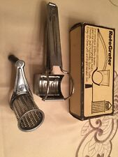 HOAN Products RotoGrater Stainless Steel cheese, nut, fruit, vegetables NIB #915