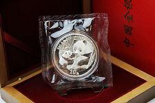 CHINA - 1 oz Silberpanda 2005 in der Originalfolie inkl. Box - TOP ERHALTUNG