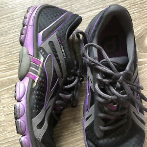 Brooks Pure Cadence Womens Size 10 Purple Athletic Running Shoes Sneakers (SYL1)