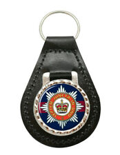 Household Division, British Army Leather Key Fob