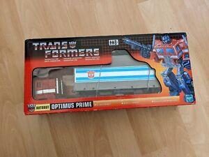 Transformers Commemorative Series I G1 Optimus Prime from 2002 NEW in Box TRU