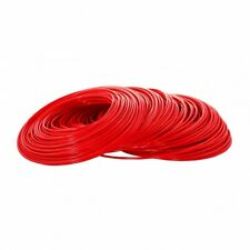 "25m Red 1/4"" Pipe Tube Hose for HMA Reverse Osmosis Water Filter Fridge Tubing"