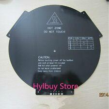 MK3 Reprap aluminum Round Heatbed 3D Printer Delta Rostock Heated bed Hot Plate