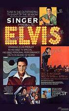 Elvis Presley 1968 Special AD REPRO 11 X 17 poster print