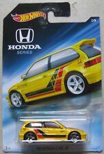 Hot Wheels Honda series 2/8 '90 HONDA CIVIC EF yellow