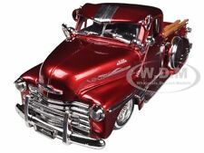 1951 CHEVROLET PICKUP TRUCK LOWRIDER RED 1/24 DIECAST MODEL BY JADA 96802