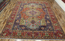VINTAGE PERSIAN HANDMADE CARPET WOOL 350 X 260 CM 11.8 X 9 FT PERSIAN CARPETS
