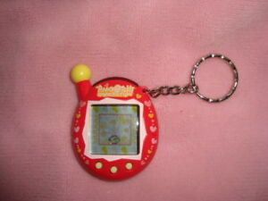 Tamagotchi Connection Version 4 red Colored Casing with heart design