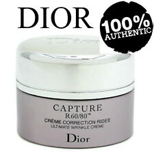 AUTHENTIC TRAVEL 15ML DIOR CAPTURE R60/80 CORRECTION RIDES WRINKLE RICH CREME