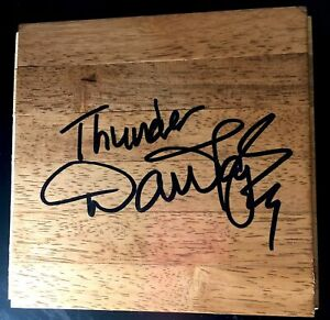 Dan Majerle Signed 6x6 Floorboard Parquet Phoenix Suns Auto Autograph