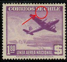 Chile 1948 #392 Avion y Torre de Radio (A-486)