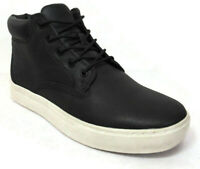 TIMBERLAND A1815 DAUSET CUP CHUKKA MEN'S BLACK TECTUFF LEATHER HITOP SNEAKER
