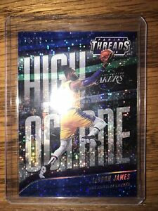 2019 LeBron James /85 Blue Refractor LA Lakers