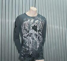 Ve'cel LS Tattoo Scream Baby Thermal Grey Vecel $65 XXL