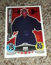 """Star Wars Sammelkarte """"Darth  Maul"""" Nr. 126 Sith"""