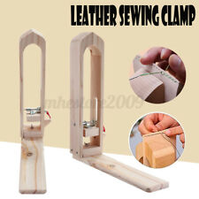 Desktop Leather Craft Stitching Lacing Pony Horse Table Clamp Tools Diy Wooden