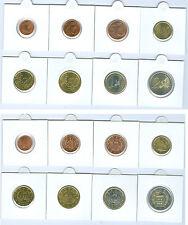 San Marino Euro-Kursmünzensatz 1 Cent bis 2 Euro aus verschiedenen Jahrgängen