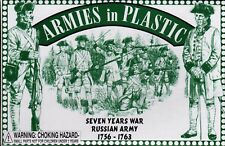 Armies in Plastic Seven Year's War (1756-1763) Russian Infantry 1/32 Scale 54mm