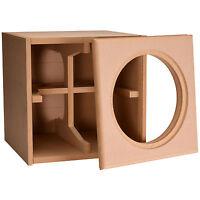 Knock-Down MDF 1.5 ft³ Subwoofer Cabinet for Da