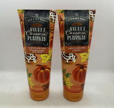 2x Sweet Cinnamon Pumpkin By Bath & Body Works Ultra Shea Body Cream
